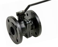 PN16 Cast Iron Ball Valve with Stainless Ball and Stem