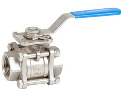 SS 3 Piece Ball Valves