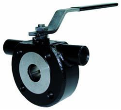 PN16 CS Wafer Jacketted Ball Valve