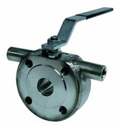 Stainless Steel Wafer Ball Valve | Genebre 2116 | PN16 Jacketted Ball Valves