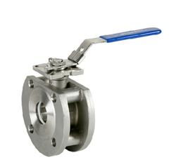 SS PN16 Wafer Ball Valves Direct Mount