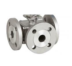 Stainless Steel 3-Way Ball Valve | Genebre 2541 | PN16 Ball Valve T Port