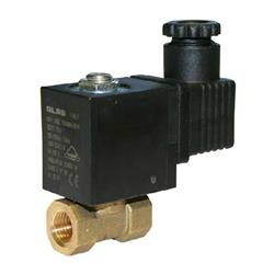 Brass Solenoid Direct Acting NBR BSPP