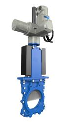 Ductile Iron | Electrically Actuated Knife Gate Valve