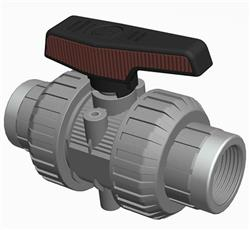 Cepex Extreme Ball Valve ABS BSP End