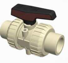 Cepex Extreme Ball Valve PP Solvent Weld End