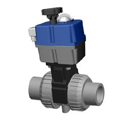 Cepex CPVC Electric Actuated Ball Valve