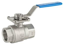 2 Pce SS Ball Valve Direct Mount