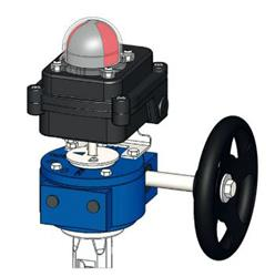 Butterfly Valve Gearbox Limit Switchbox