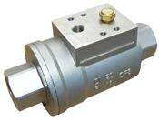 Actuated Axial Flow Valve