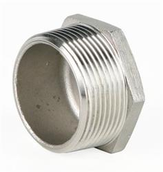 Pipe Fittings | Genebre 0290 | SS 150lb  BSP Hex Plug