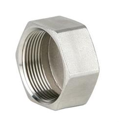 Pipe Fittings | Genebre 0300 | SS 150lb BSP Hex Cap