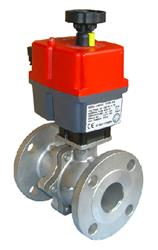 110/240V SS FS PN16 Ball Valve with J+J Electric Actuator