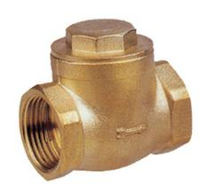 Brass Swing Check Valve Rubber Seat