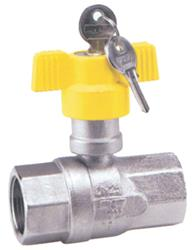 Lockable Gas Approved Ball Valve