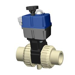 Cepex PP Electric Actuated Ball Valve