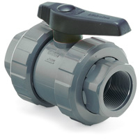 PVC Ball Valve Viton BSP End