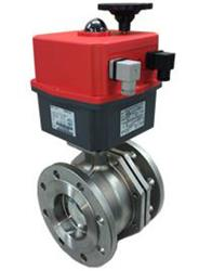 Stainless Steel Flanged Ball Valve with Electric Actuator