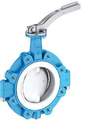 EBRO T214A Butterfly valves