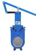 Economy Cast Iron Knife Gate Valve Lever Operated