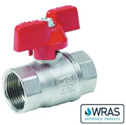 Wing Handle Brass Ball Valve