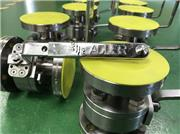 ADLER titanium ball valve project for WWT plants in UK.
