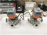 AVA Smart actuators with Mars Sanitary 3 way valves