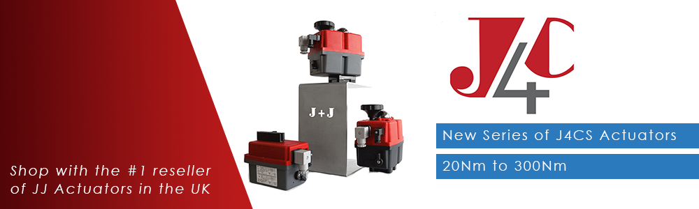 J+J Automation J4CS Electric Actiator - 20Nm - 300Nm Electric Valve Actuators