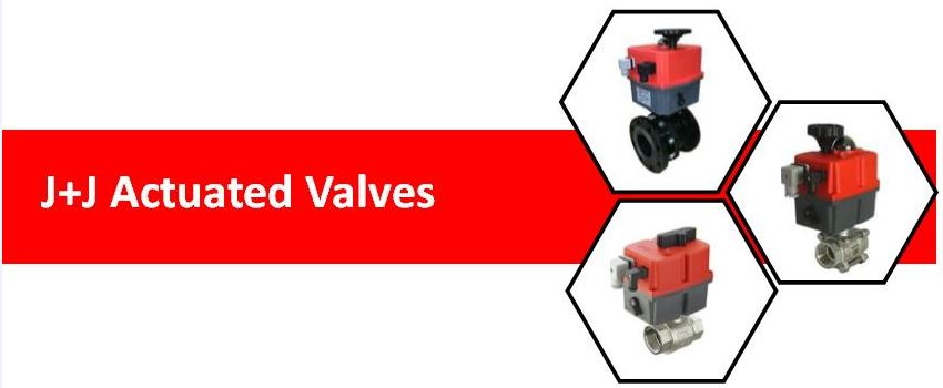 jj actuated valves